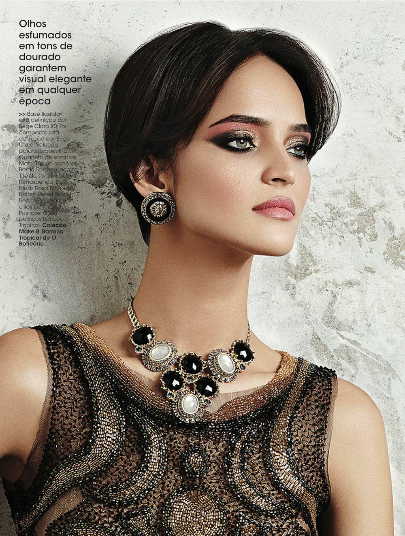 Maquiagem Rosa Queimado Vogue Brasil Suelen Johann