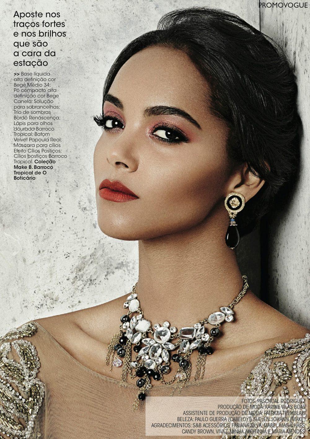 Maquiagem Rosê Vogue Brasil Suelen Johann