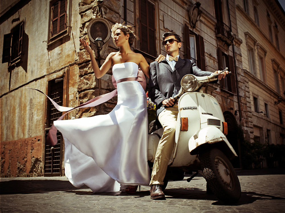 Noivas em Roma