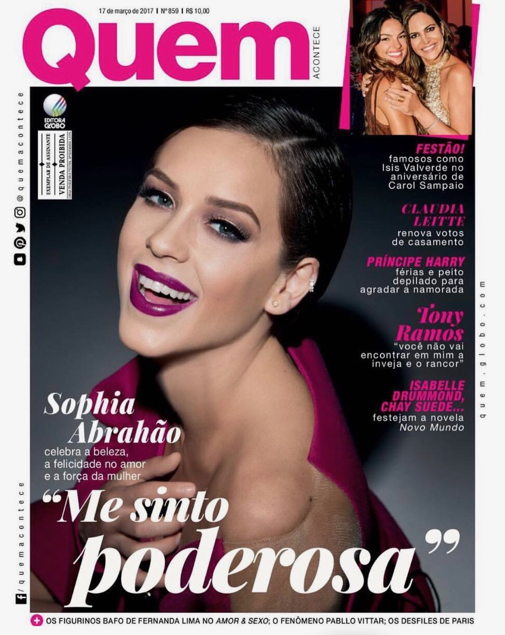 Sophia Abraão - Capa Revista Quem.jpg