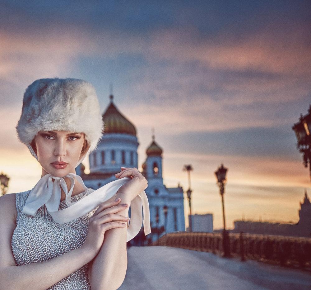 Maquiagem de noivas por Suelen Johann na Russia