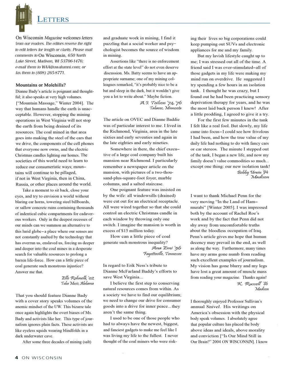 "Aaron Steffes, On Wisconsin , 2006, inkjet print, 9"" x 11.5"""