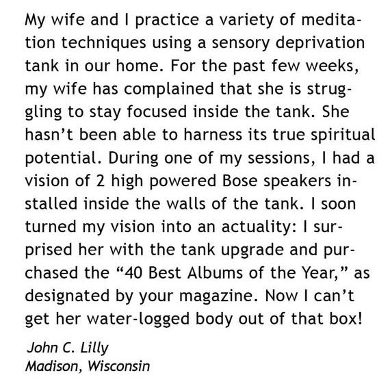 "Aaron Steffes, Feedback (Spin Magazine) , detail, 2006, ink jet print, 9"" x 12"""