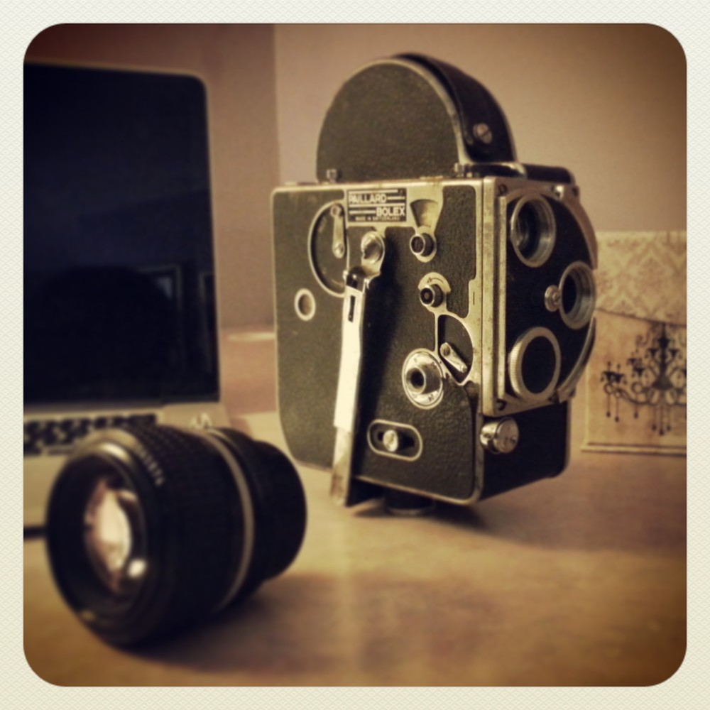 Old camera... Awesome lens