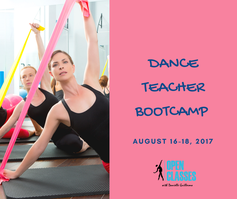ATTENTION TEACHERS - Teaching schedules can make it difficult to find the time to take class. Before the hustle and bustle of back-to-school commences, take time for you.Take a time out. Realign your body and encourage proper muscle usage. Learn exercises that you can use to place your body in the optimum position to teach dance each day. Dance alongside other area professionals in this TEACHERS ONLY Bootcamp.Beginning at 7PM Wednesday-Friday, explore Progressing Ballet Technique. PBT is followed from 8-9 by a Ballet class where you can use all that you've just learned.Return to the fall season stronger, refreshed,and ready to share with your students! Take 3 days to focus on you.Classes are held at the Grace Milliman Pollock Center in Camp Hill. The cost is ONLY $75 and includes the appropriate band and small balls necessary for Progressing Ballet Technique. Register here.