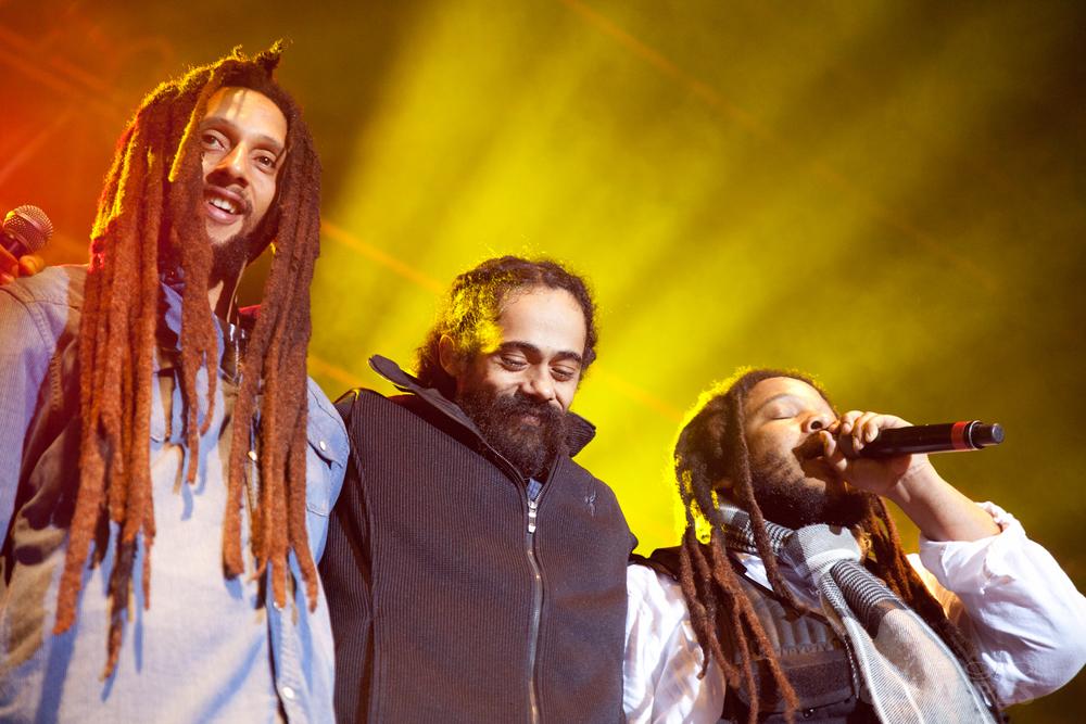 Julian Marley, Damian Marley, Stephen Marley
