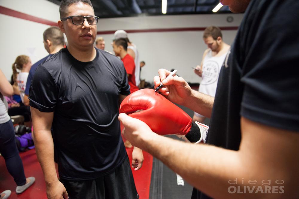 Nate Diaz Seminar