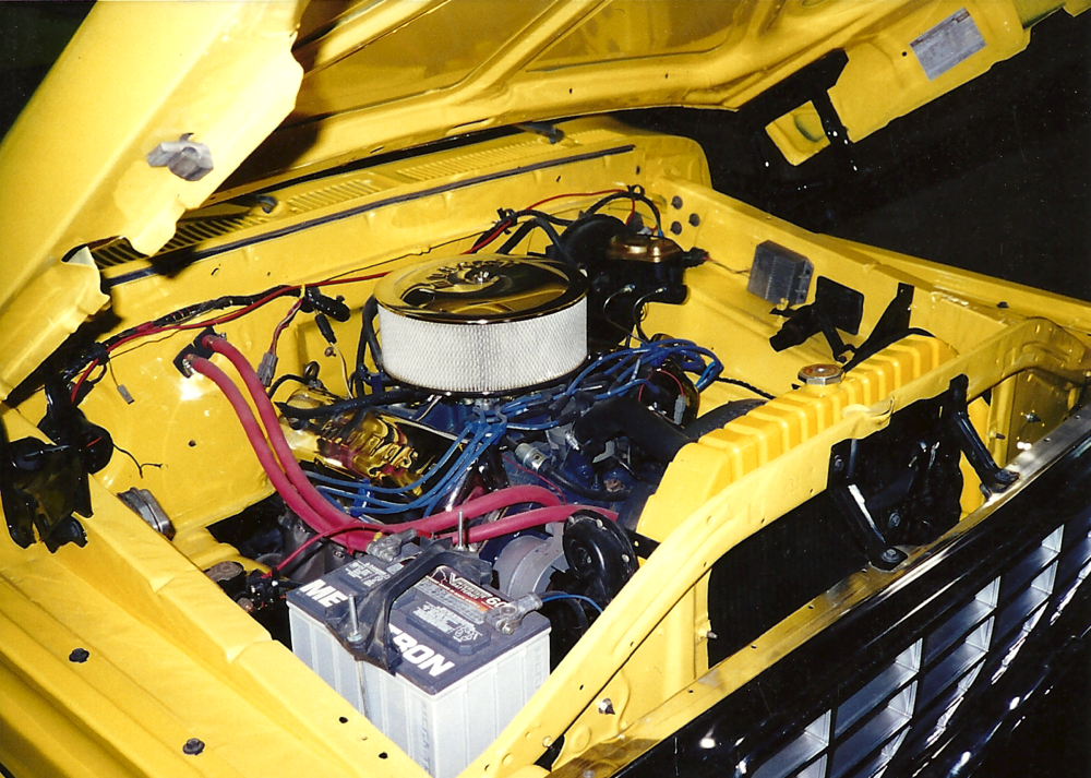 '79 Ford F-150 - engine view