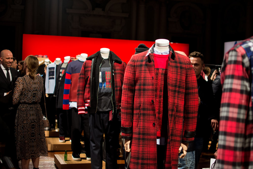 5f7a3f32c0450 Pitti Uomo 91  Tommy Hilfiger AW17 — MEN S FASHION POST