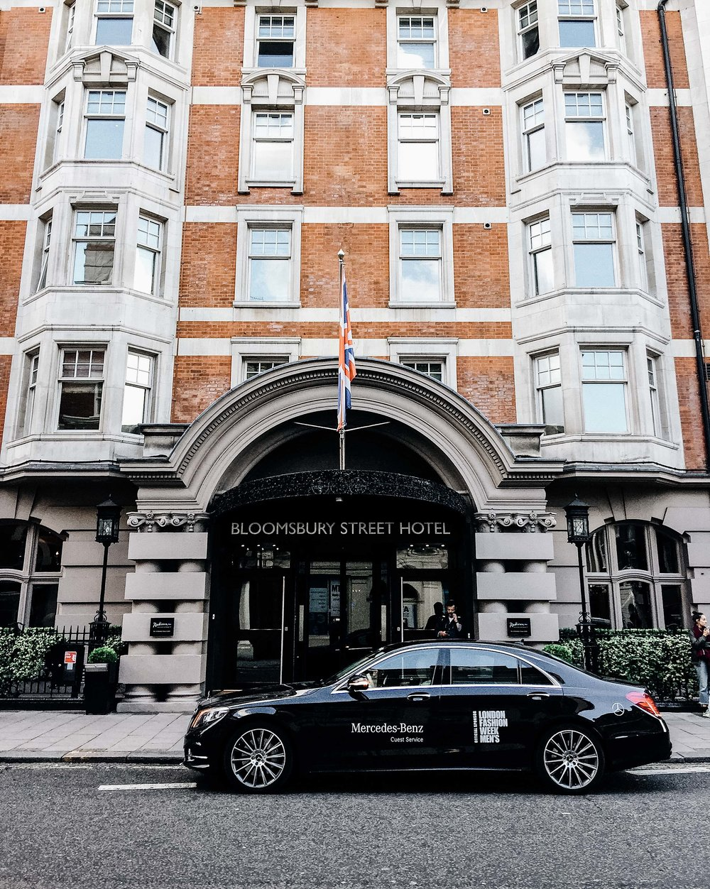 Mercedes-Benz Guest Service Car for LFWM