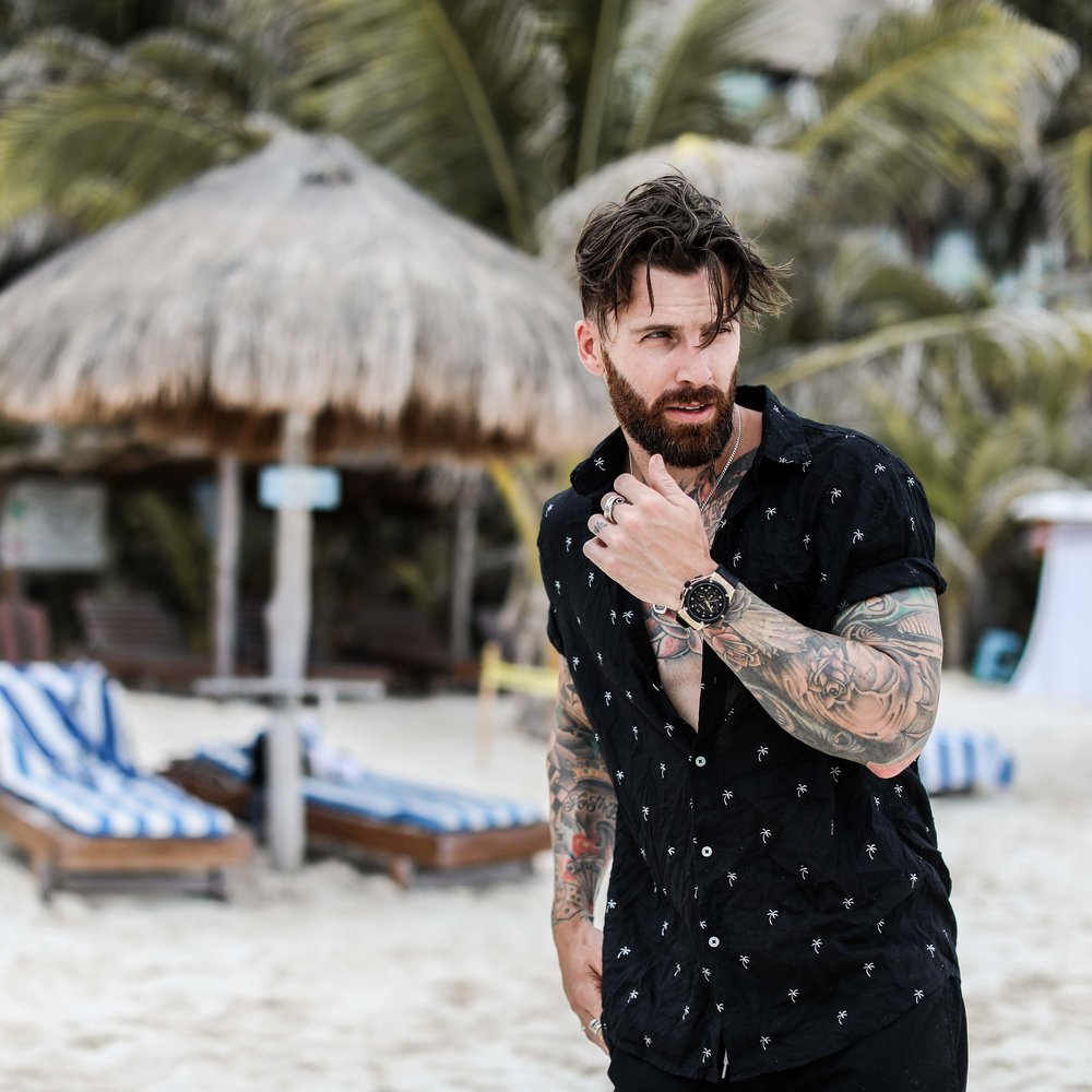 Model and Lifestyle Influencer,  Levi Stocke