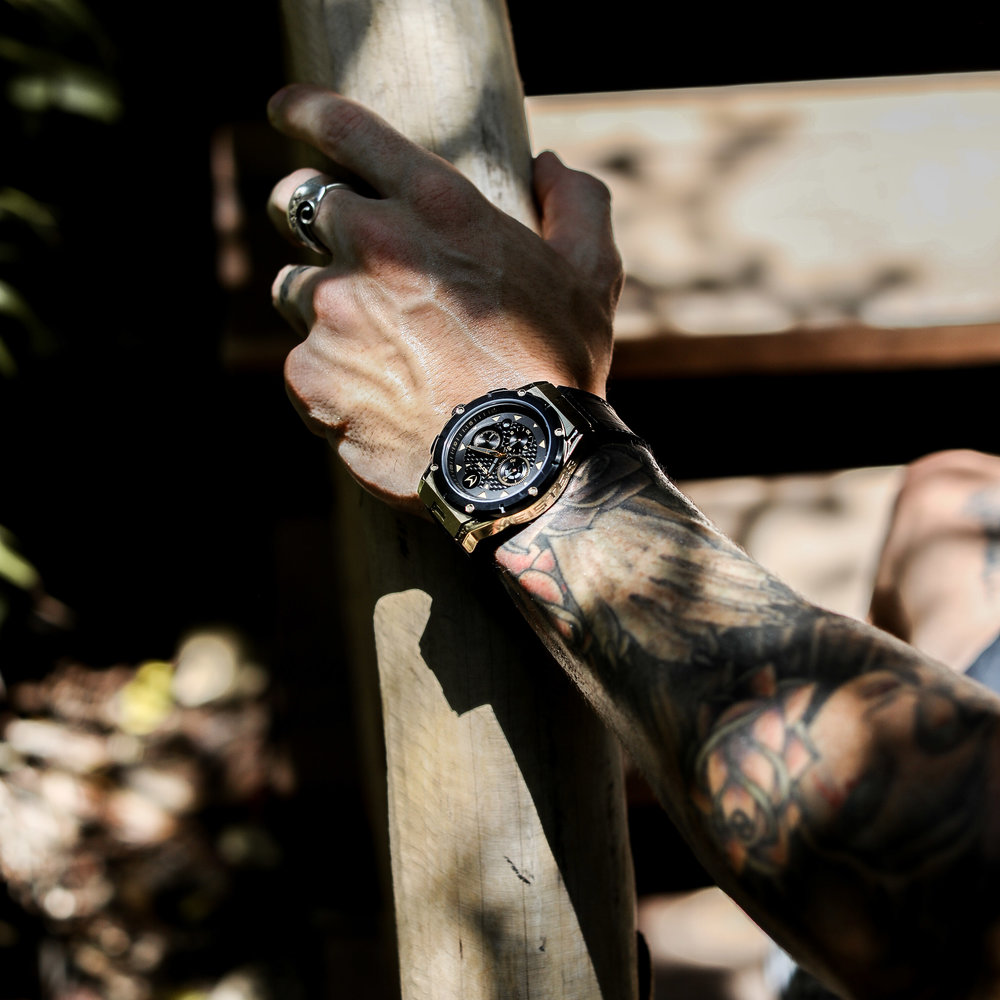 The iconic MSTR Watches timepiece, the Ambassador Watch!