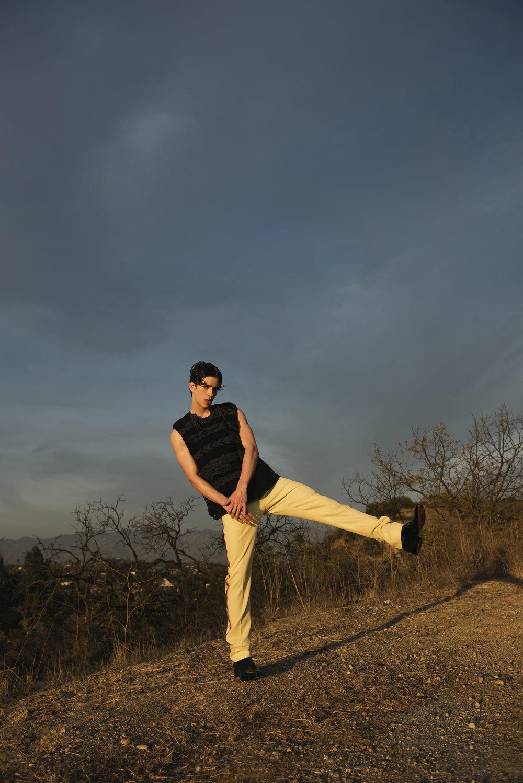 Calvin Klein look via FWRD MAN