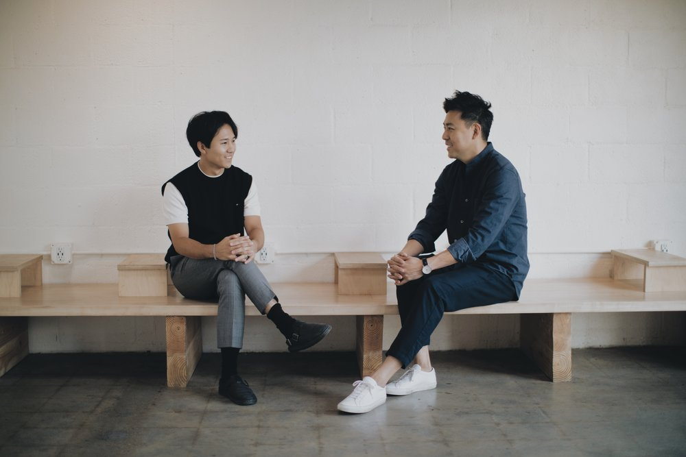 Jacob Park (left), Joonmo Kim (right)