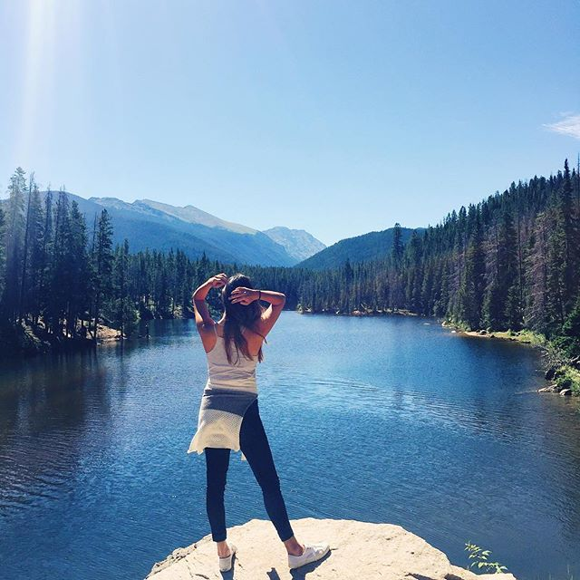 Colorado is just breath taking. It has some of the most beautiful scenery I've ever seen! After this, I can safely say I'm officially a mountain girl💙