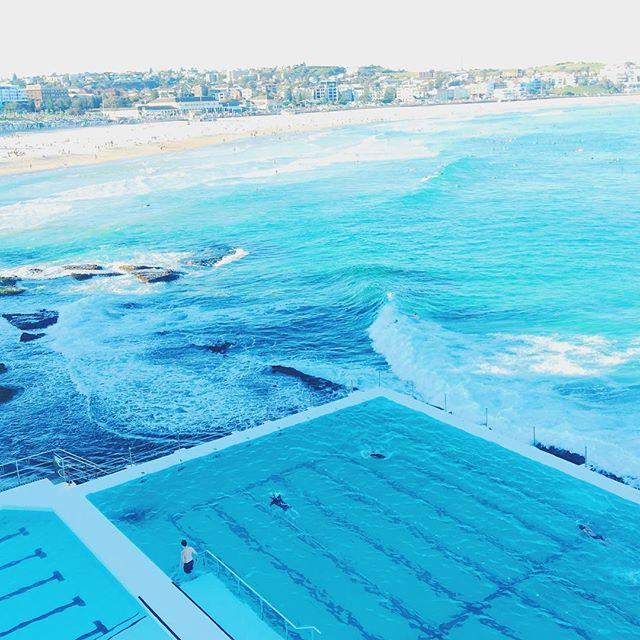 A tad iconic shot in Bondi beach, Sydney. By far my favorite area of the city. #bondi