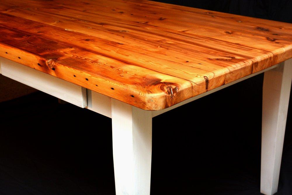 Reclaimed Lumber Harvest Table