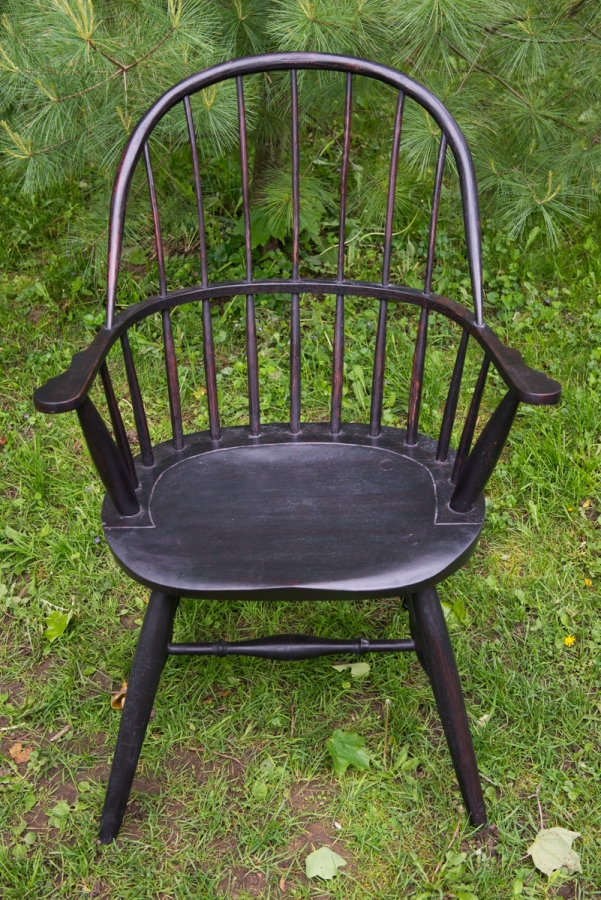 Spoke shave windor chair rake and splay sightlines steam bending Greg aultman furniture .jpg