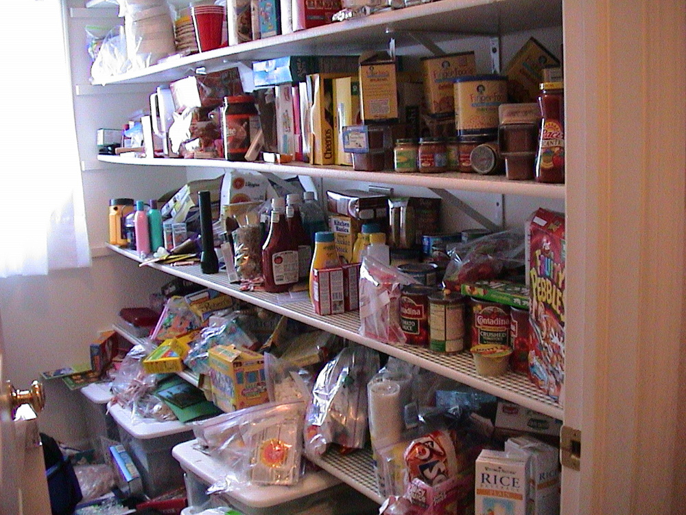 Easy: Pantry Before
