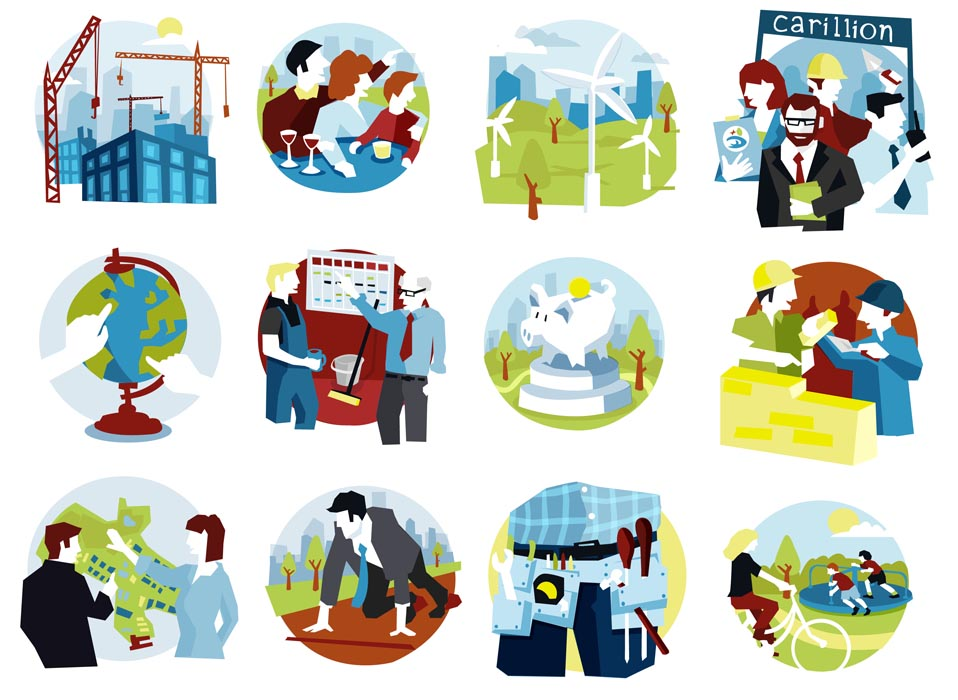 Here are some recent icons from some work I did with Scriberia and Carillion