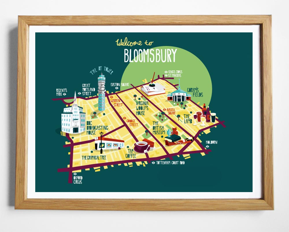 My  London Borough maps  are now available on my online shop.     kerryhyndman.bigcartel.com    They are available as A3 prints - £15 each or all five boroughs for £59.   They've also been getting lots of blog love wich is ace - It was really nice to see them appear on  Design Taxi ,  Creative Review  and  Bitique !