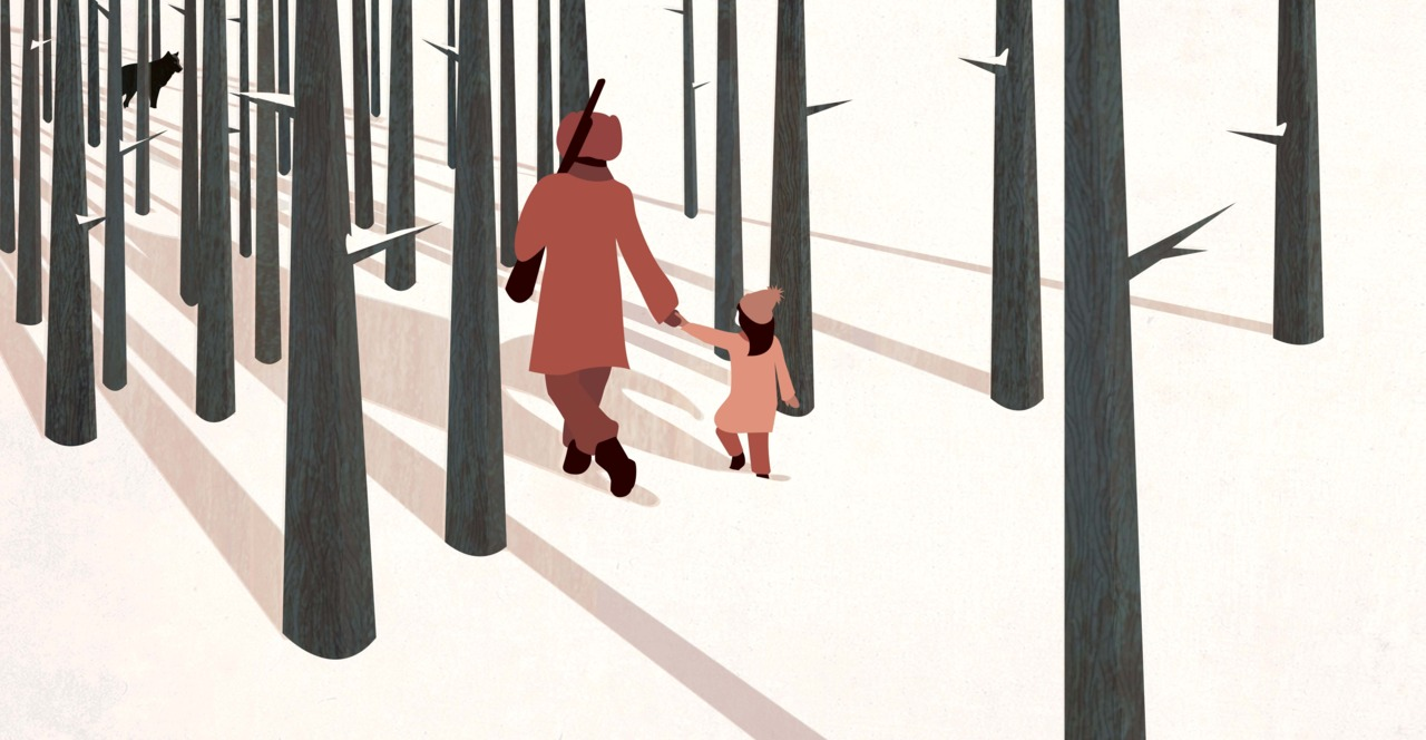 'we're not out of the woods yet…'   New illustration inspired by our current weather!