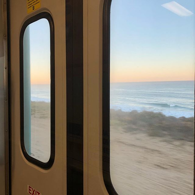 #morningcommute #sandiego #delmar #coaster #california