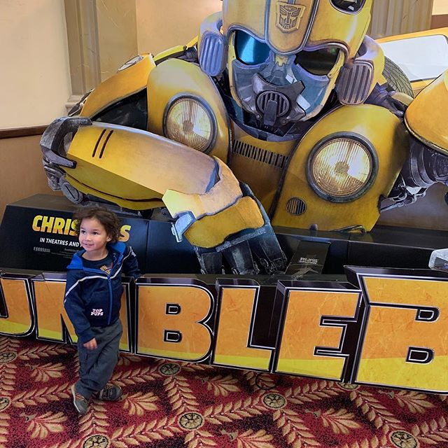 "#bumblebee #pictures #mommysontime #cutie #son #photogenic ""momma take my picture"""