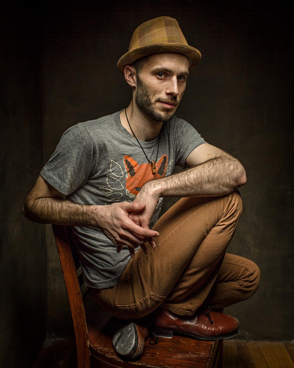 Corner Portrait - Photo by Bill Wadman