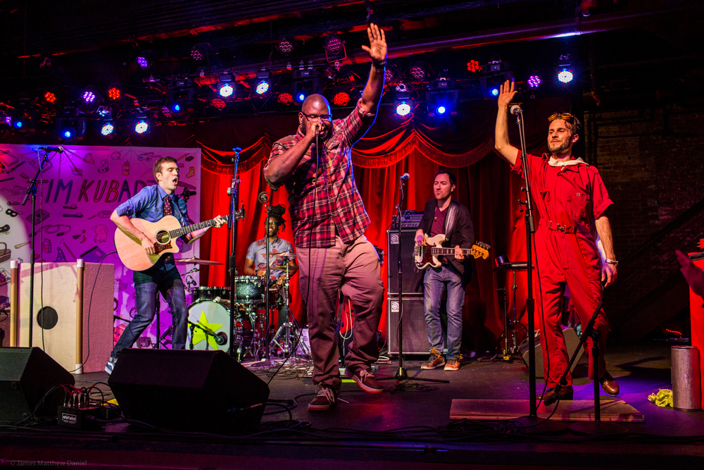 Tim and the Space Cadets at Brooklyn Bowl - Photo by James Daniel