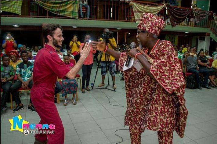 Nnenna & Friends - Jumpsuit Alex with Chielf Olododo of wapTV