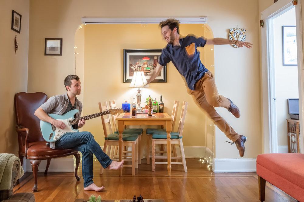 Apartment Jam with Nick Moran - Photo by Tony Cenicola
