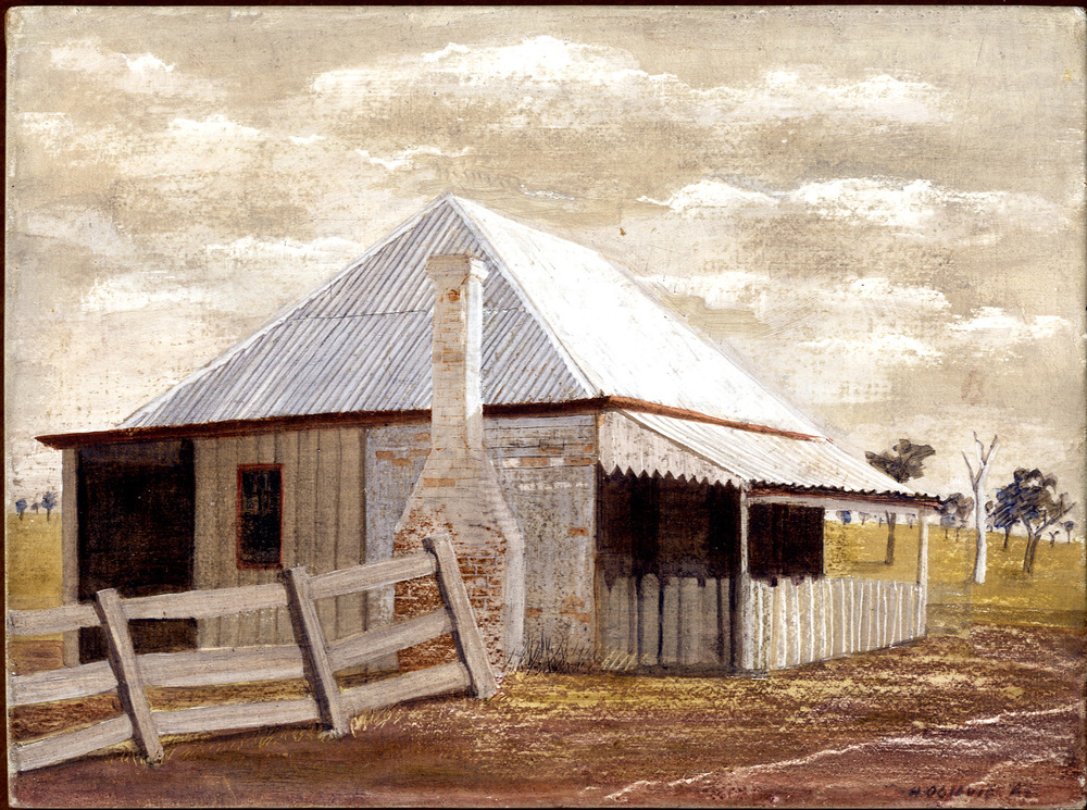'Drover's cottage, New South Wales'