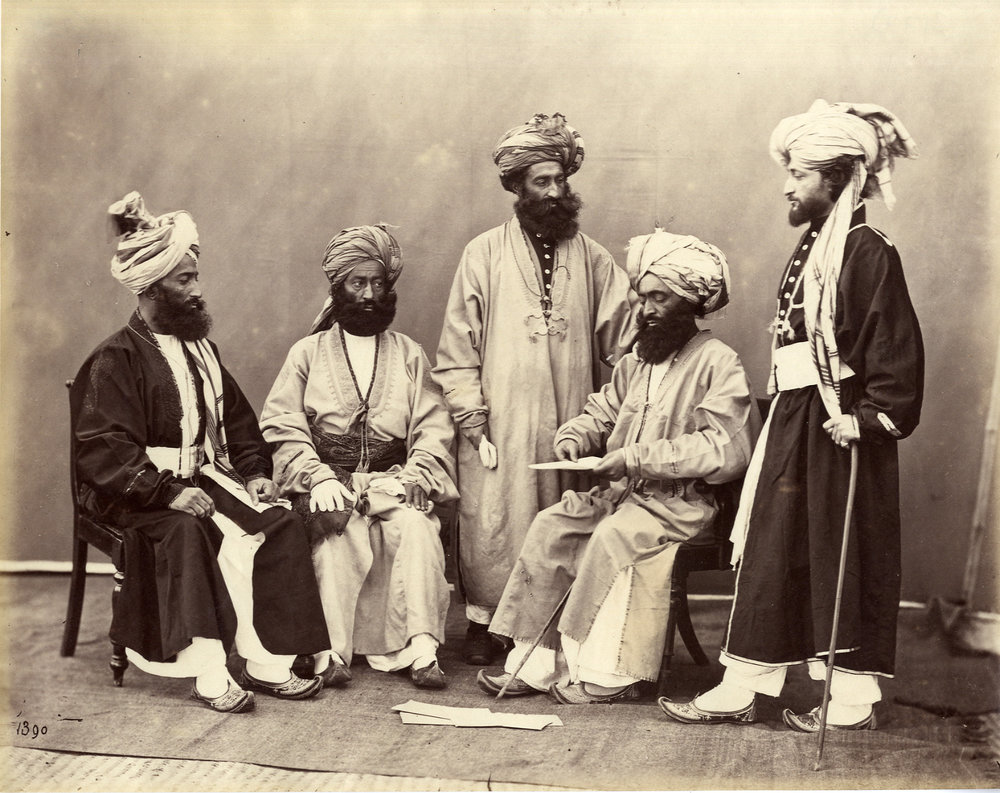 Charles Shepherd  Afghan Leaders