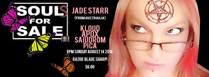 DREAD APOCALYPSE CIRCUS - JADE STARR LIVE USA