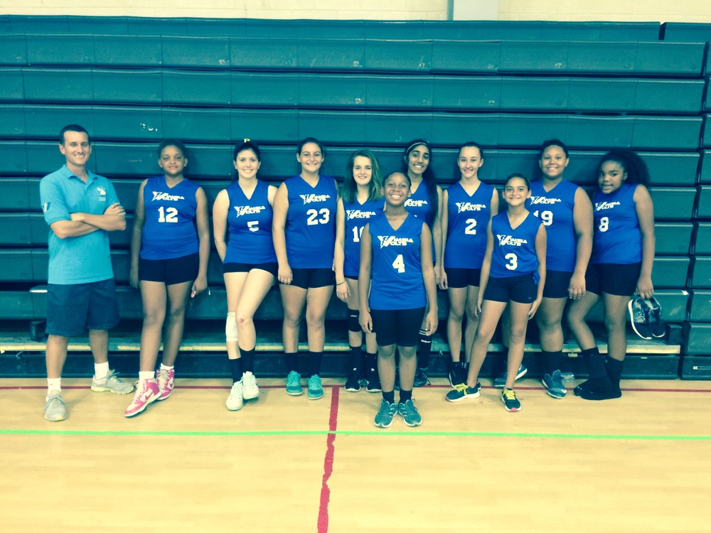 JV Girls after their win against Kean on Tuesday.