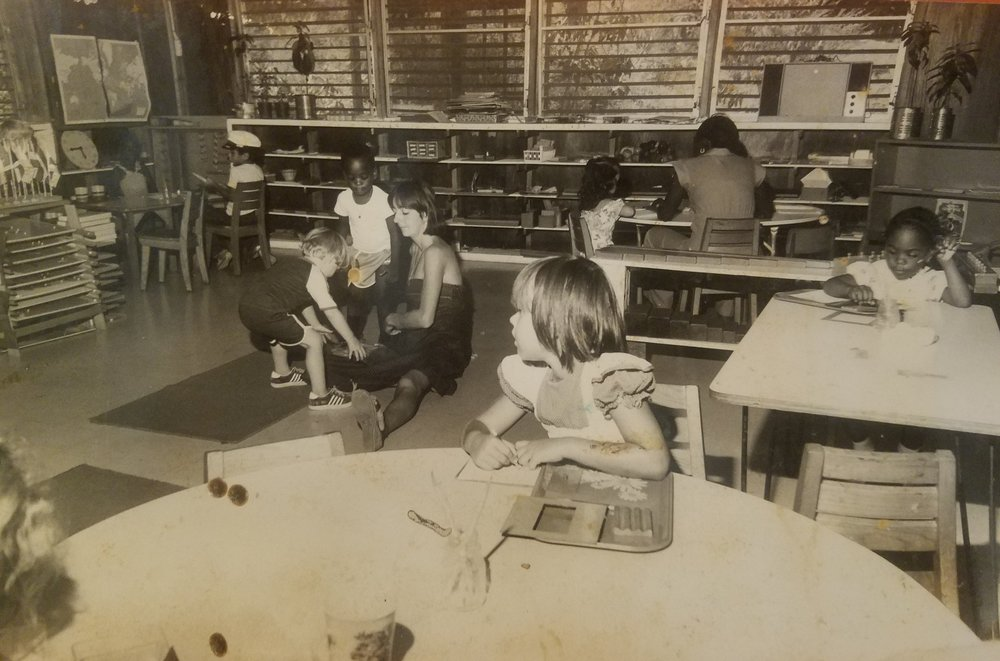 Ms. Shournagh McWeeney teaching a Primary class, circa 1970. Over 45 years later, her legacy as a key educator, leader, and friend of the VIMSIA family is stronger than ever.