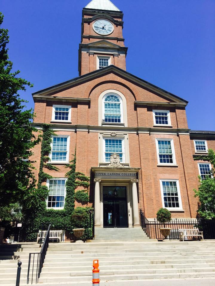 Upper Canada College in Toronto, Ontario, Canada.