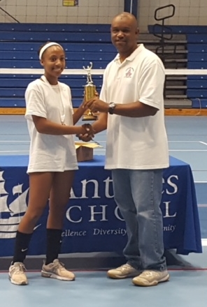 Congratulations Leah - tournament MVP