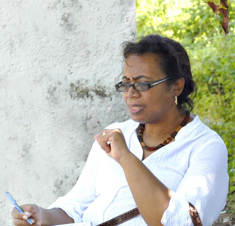 Author and Bahamian Cultural Advocate, Patricia Glinton Meicholas