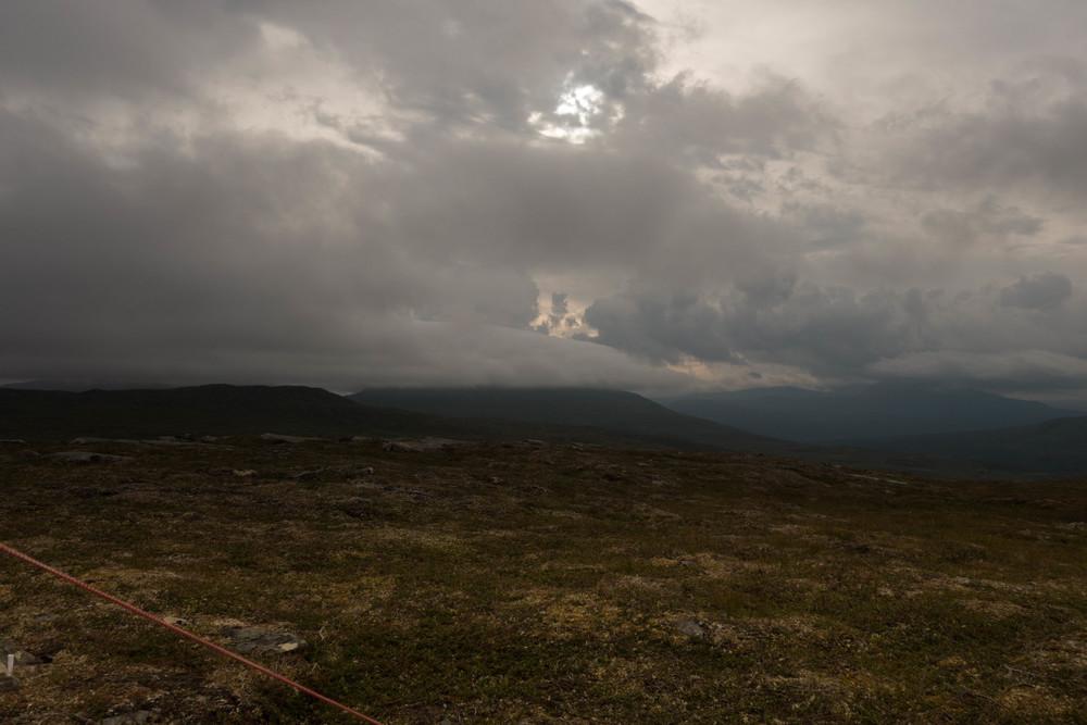 Där molnen är, hade jag tänkt att vandra