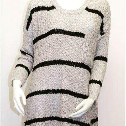 #SweaterWeather has arrived #comfy #cozy #fallfashions #fallstyle #fashion #stripes #sailorstriped #pocket #womensclothing #shopping #fashionblogger