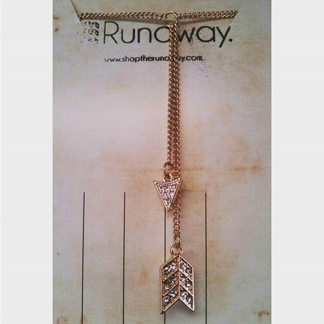 #lariat #arrow #necklace perfect for taking your everyday look to the next level #accessories #statementnecklace #arrowthroughmyheart #arrows #style #fashion # shopping #fashionbloggers