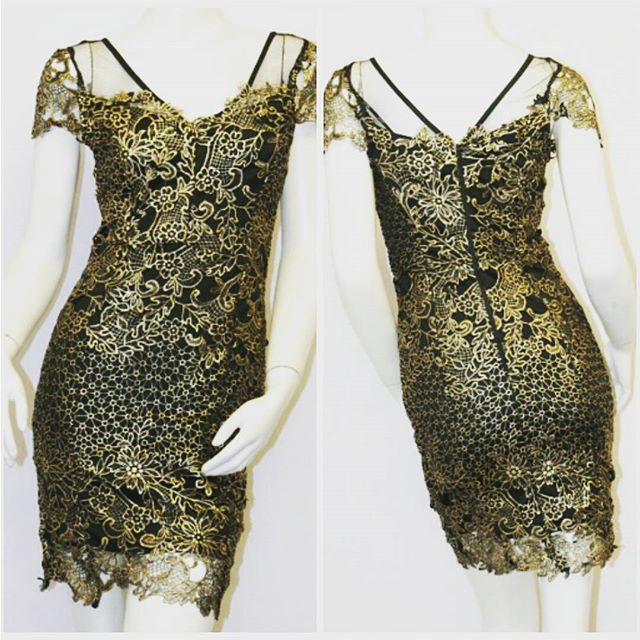 #Shimmer and #Shine in this #gilded black dress this #holidayseason from our @shoptherunaway holiday collection #holidayshopping #shopping #keepitclassy #gold #golden #womensclothing #womensfashion #fashion #fashionbloggers #style #shoplocal #shoponline #shoptherunaway