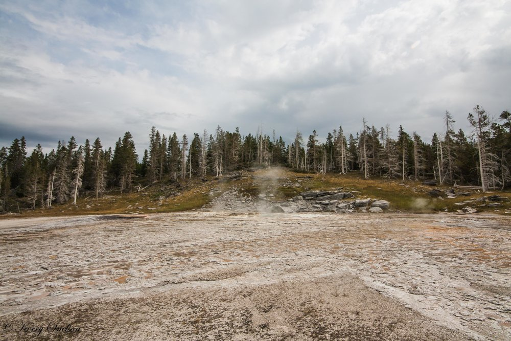 Inactive Grand Geyser