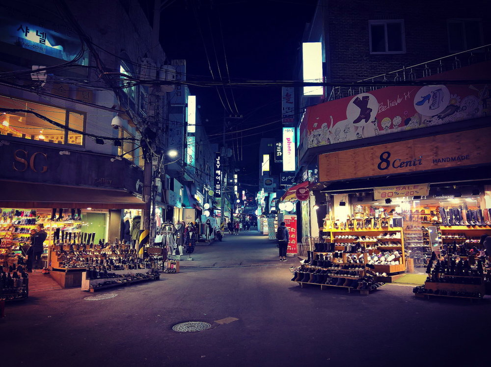 Night Market, Seoul