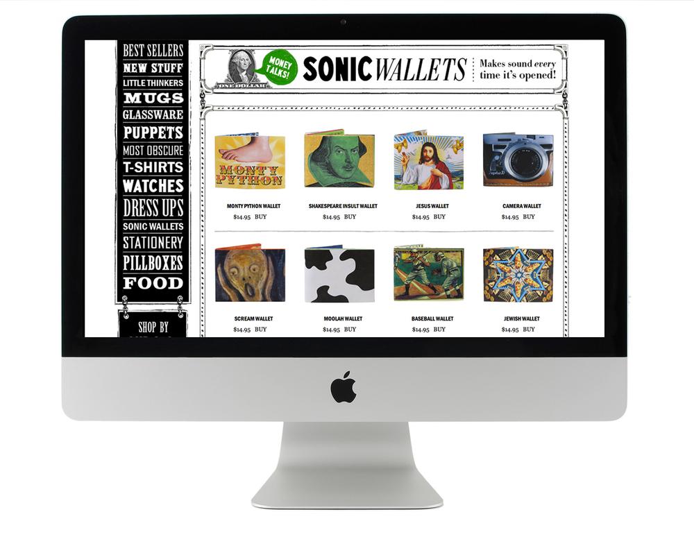 unemployed philosophers guild website design retail products