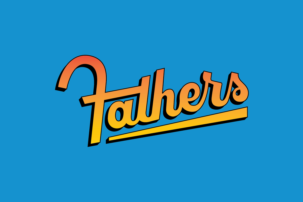 script lettering fathers day