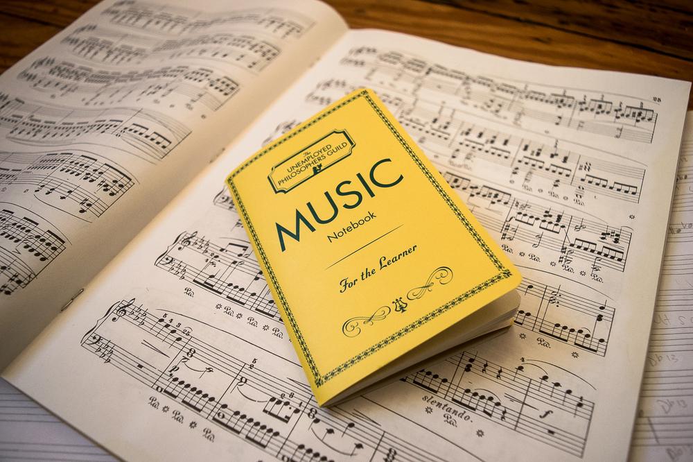 music notebook unemployed philosophers guild