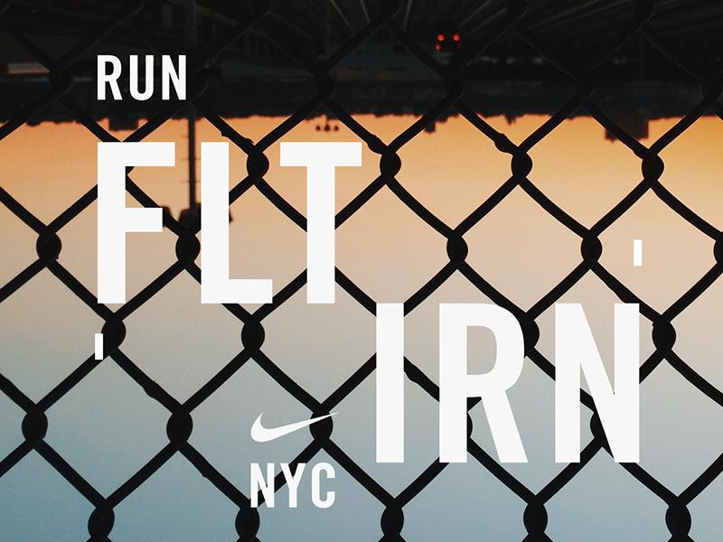 Nike Run FLT IRN NYC
